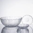 Arcoroc Fleur Glass Dinnerware by Arc Cardinal