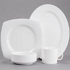 Cardinal Ginseng White Porcelain Dinnerware