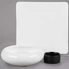 Cardinal Purity White Porcelain Dinnerware