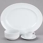 Cardinal Rondo White Porcelain Dinnerware
