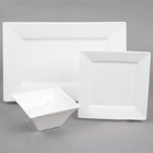 Arcoroc Square Up White Porcelain Dinnerware by Arc Cardinal