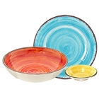 Carlisle Mingle Melamine Dinnerware