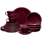 Claret Homer Laughlin Fiesta Dinnerware