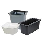Cold Crocks, Pans, and Lids