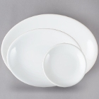 Core Bright White Coupe China Dinnerware