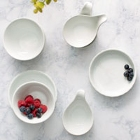 Acopa Bright White China Dinnerware Accessories
