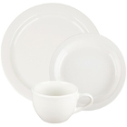 Core Narrow Rim Ivory (American White) China Dinnerware