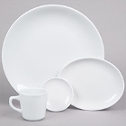 Coupe Bright White China Dinnerware