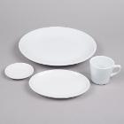 Coupe Bright White China Dinnerware