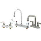 Deck-Mount Workboard Faucets