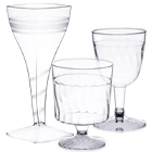 Disposable Plastic Wine Glasses