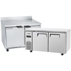Dual Temperature Work Top and Undercounter Refrigerators / Freezers