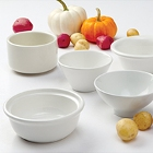 Tuxton Porcelain White China Ovenware