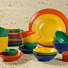 Elite Global Solutions Brazil Colorful Melamine Dinnerware