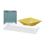 Elite Global Solutions Squared Melamine Dinnerware