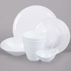 Elite Global Solutions Swirl Melamine Dinnerware