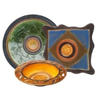 Elite Global Solutions Artist Melamine Dinnerware