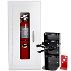 Fire Extinguisher Cabinets and Fire Extinguisher Brackets