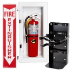 Fire Extinguishers and Fire Extinguisher Accessories