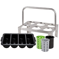Utensil Holders and Flatware Organizers