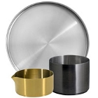 Front of the House Soho Brushed Stainless Steel Dinnerware