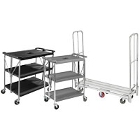 Folding Bussing / Utility / Transport Carts