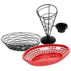 Restaurant Food Serving Baskets