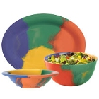 GET Diamond Celebration Colorful Melamine Dinnerware
