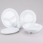 GET Diamond White Melamine Dinnerware