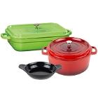 GET Heiss Enamel Coated Cast Aluminum Cookware