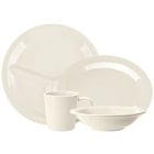 GET Ivory and Diamond Ivory Melamine Dinnerware