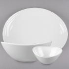 GET Magnolia Textured Rim Melamine Dinnerware