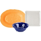 GET New Yorker Colorful Textured Melamine Servingware
