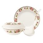 GET Tea Rose Melamine Dinnerware