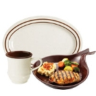 GET Ultraware Brown Melamine / Plastic Dinnerware