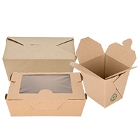 Eco-Friendly, Biodegradable & Compostable Paper Take-Out Containers