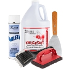 Grill Cleaners and Scrapers