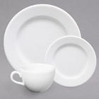 Homer Laughlin by Steelite International Americana Bright White China Dinnerware