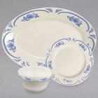 Homer Laughlin by Steelite International American Rose Blue China Dinnerware