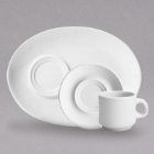 Homer Laughlin Cafe Robusta Arctic Bright White China Dinnerware