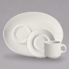 Homer Laughlin Cafe Robusta Ivory (American White) China Dinnerware and Beverageware