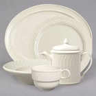 Homer Laughlin Gothic Ivory China Dinnerware