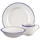 Homer Laughlin Pristine Kerry Cobalt Blue China Dinnerware