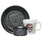 Fiesta Tableware from Steelite International Skull and Vine China Dinnerware