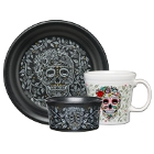 Homer Laughlin Skull and Vine China Dinnerware