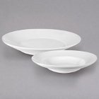 Homer Laughlin Unique Ameriwhite Bright White China Dinnerware