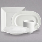 Homer Laughlin Aurora Ameriwhite Bright White China Dinnerware