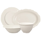 Homer Laughlin Carolyn Ivory (American White) China Dinnerware