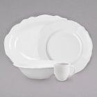 Homer Laughlin by Steelite International Carolyn Bright White China Dinnerware