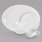 Homer Laughlin Empire Arctic Bright White China Dinnerware